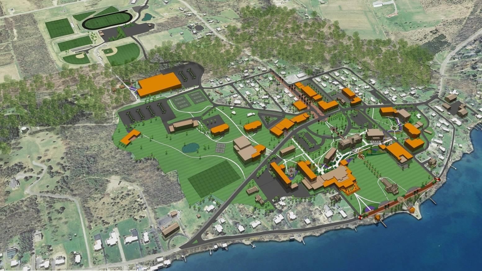 Campus Master Plan from Keuka College