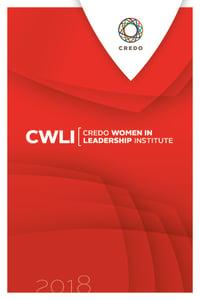 Credo CWLI Program 2018 cover page