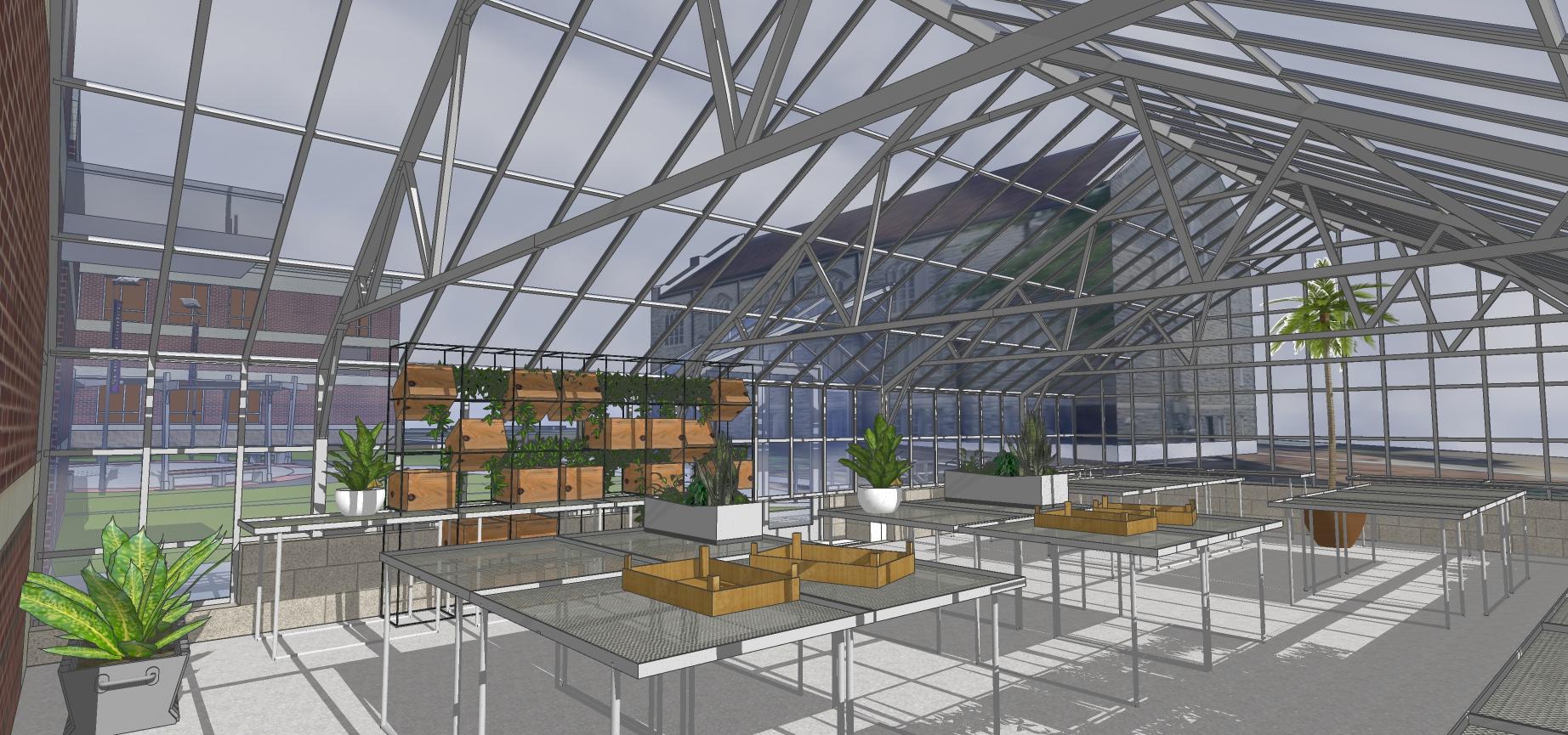 Ozark Science Greenhouse 2541 -Interior
