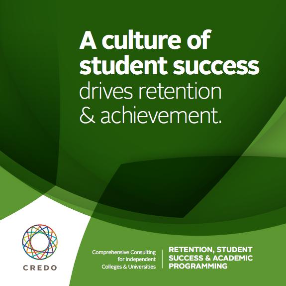 a culture of student success drives retention & achievement