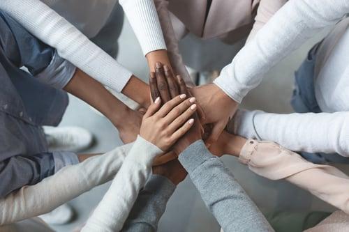 www.credohighered.comhubfs2018 Credo Women in Leadership Institute (CWLI)Women hands in middle-1