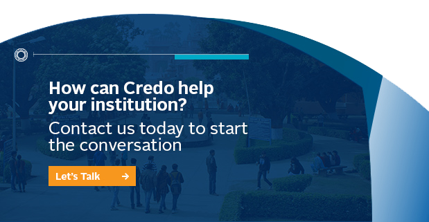 How can Credo help your institution?