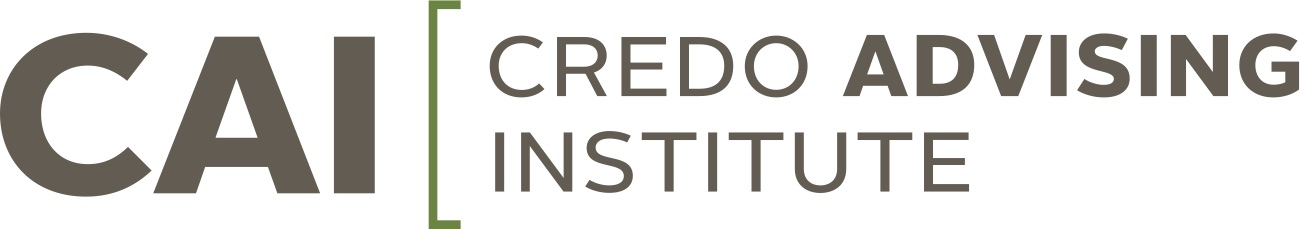 Credo Advising Institute (CAI) 2016